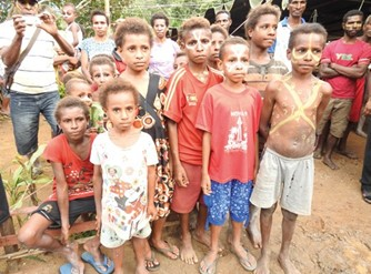 Kinder in West-Papua